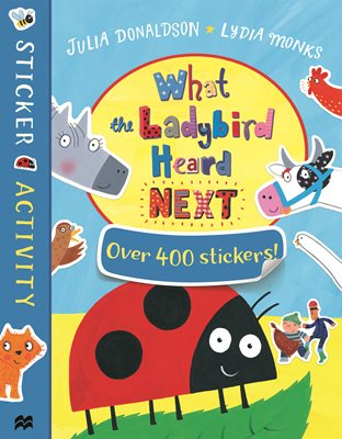 Book cover for What the Ladybird Heard Next Sticker...
